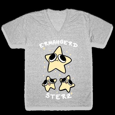 Ermahgerd Sterz V-Neck Tee Shirt