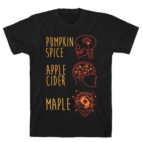Pumpkin Spice Mind Expansion Mens T-Shirt