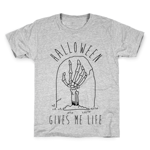 Halloween Gives Me Life Kids T-Shirt