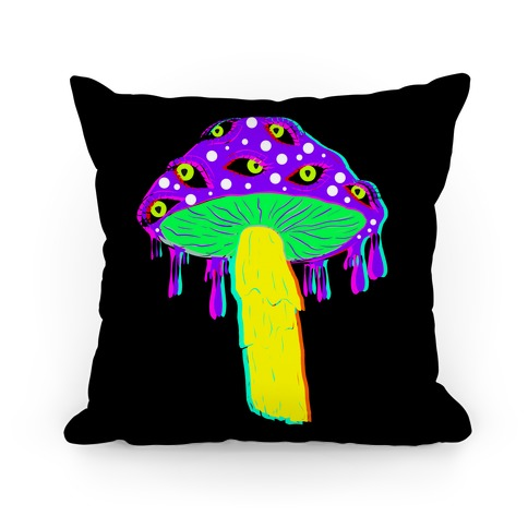 Shroom Trip  Pillow