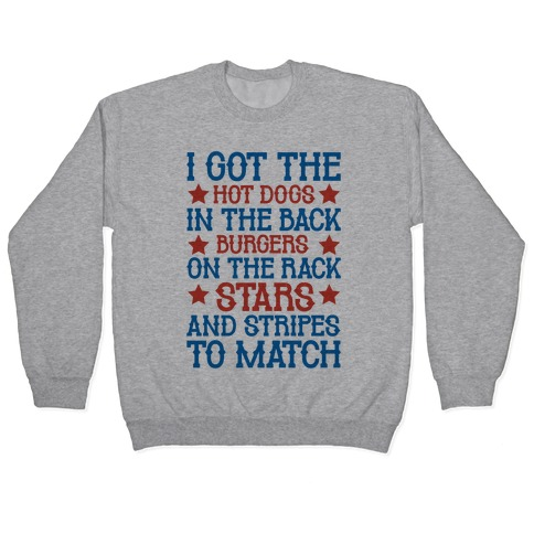 Old Town Road Fourth of July Parody Pullover