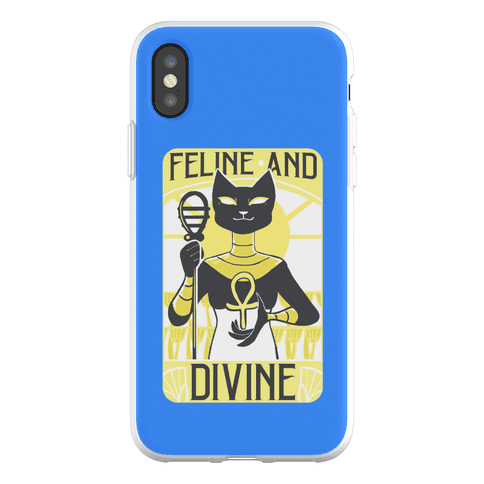 Feline and Divine Phone Flexi-Case