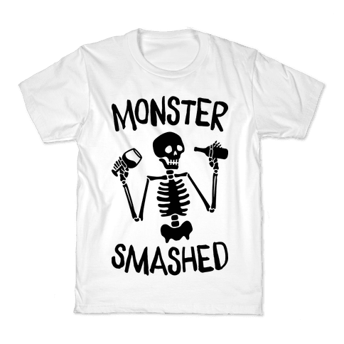 Monster Smashed Kids T-Shirt