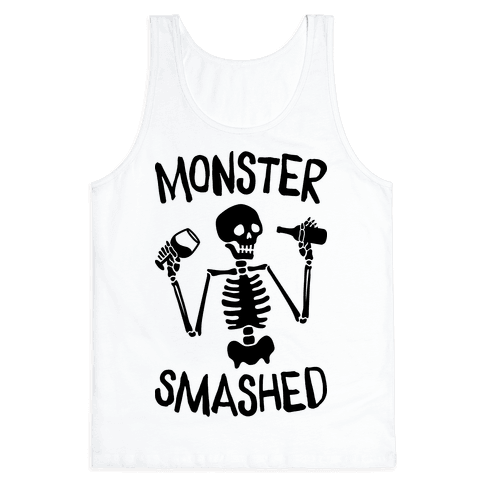 Monster Smashed Tank Top