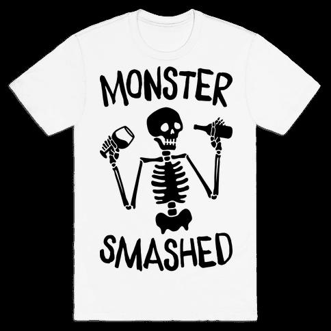 Monster Smashed Mens T-Shirt
