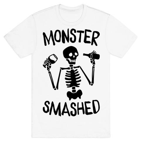 Monster Smashed Mens/Unisex T-Shirt
