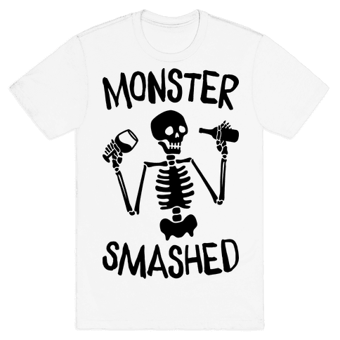 Monster Smashed Mens T-Shirt