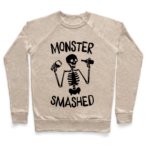 Monster Smashed Pullover