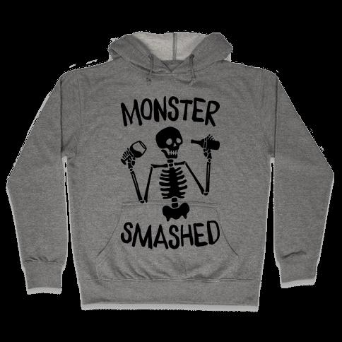 Monster Smashed Hooded Sweatshirt