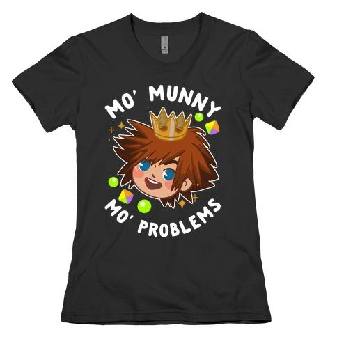 Mo' Munny Mo' Problems Sora Womens T-Shirt