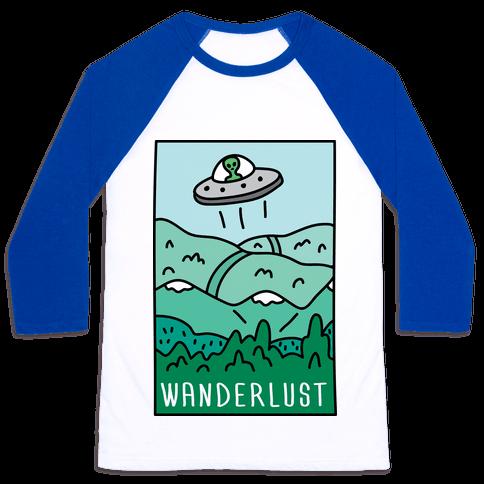 Wanderlust UFO Baseball Tee