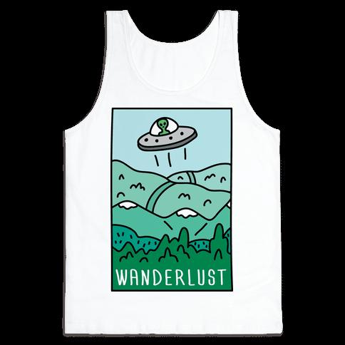 Wanderlust UFO Tank Top