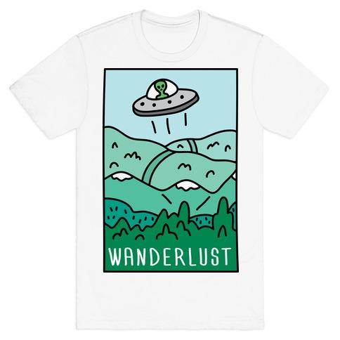 Wanderlust UFO T-Shirt