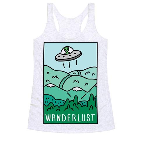 Wanderlust UFO Racerback Tank Top