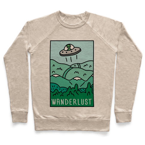 Wanderlust UFO Pullover