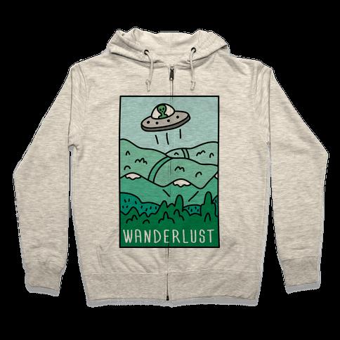 Wanderlust UFO Zip Hoodie