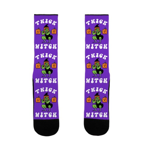 Thick Witch (Workout Witch) Sock