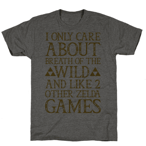 I Only Care About Breath of The Wild