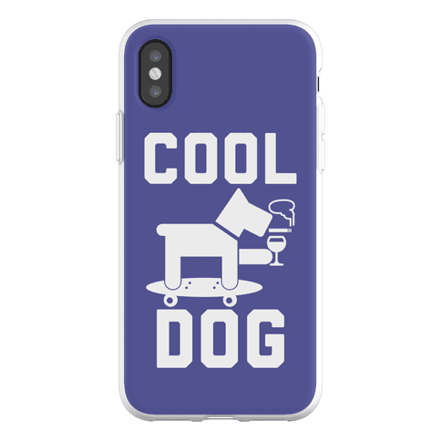 Cool Dog Phone Flexi-Case