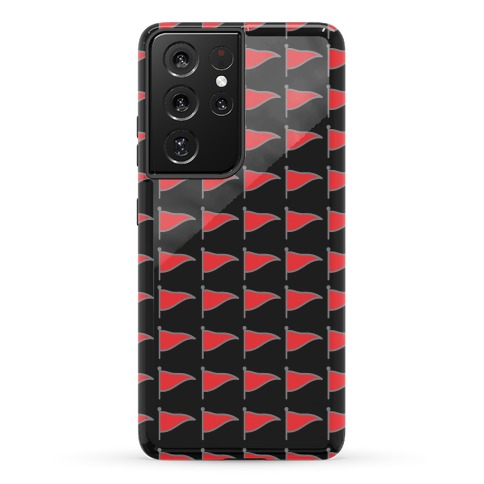 Red Flags Phone Case