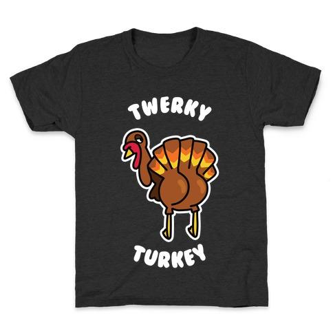 Twerky Turkey Kids T-Shirt