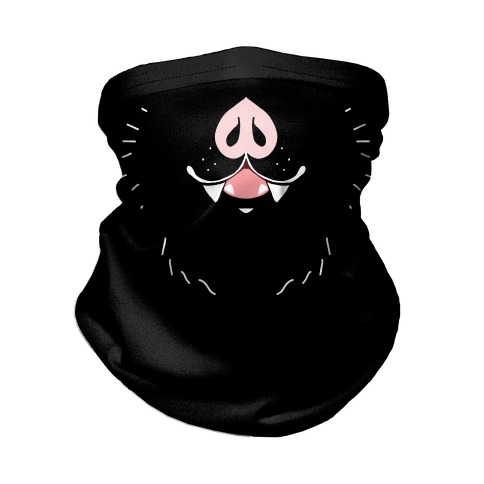Bat Mouth Neck Gaiter