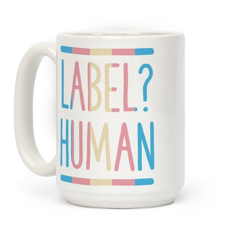 Label? Human Trans Pride Coffee Mug