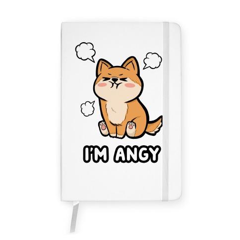 I'm Angy Shiba Inu Notebook