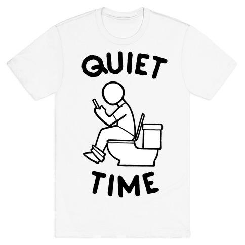 Bathroom Quiet Time T-Shirt