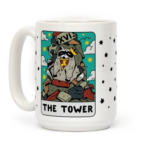 The Garbage Tower Tarot Coffee Mug