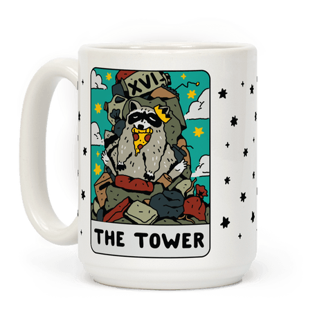 The Garbage Tower Tarot Coffee Mug