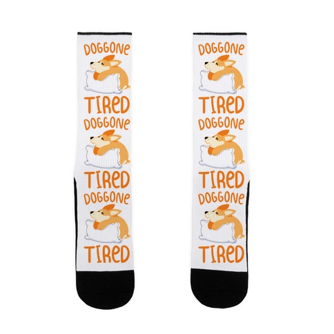 Doggone Tired Sock