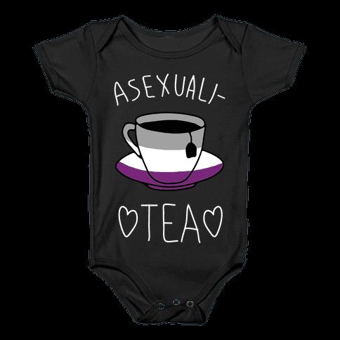 Asexuali-TEA Baby Onesy