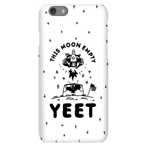 This Moon Empty YEET Phone Case