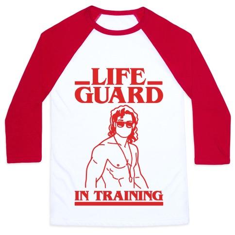 Life Guard In Training Parody Baseball Tee