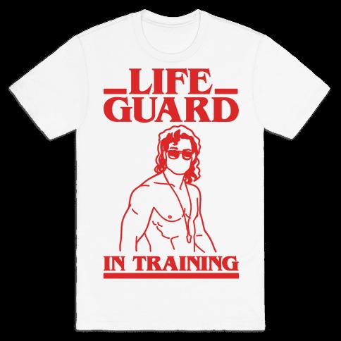 Life Guard In Training Parody Mens/Unisex T-Shirt
