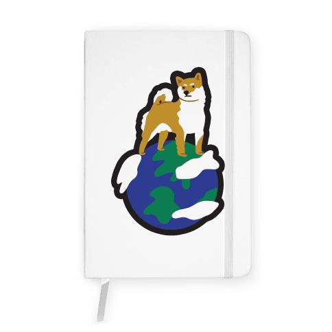 I Need My Shiba Space Notebook