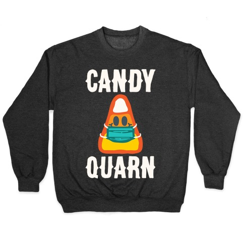 Candy Quarn White Print Pullover