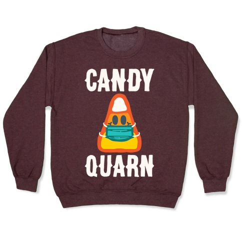 Candy Quarn White Print Pullover