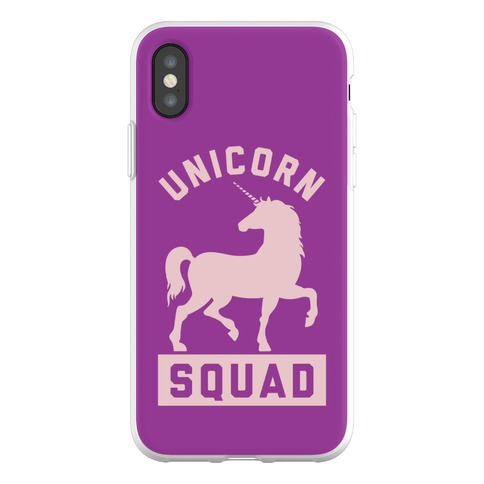 Unicorn Squad Phone Flexi-Case
