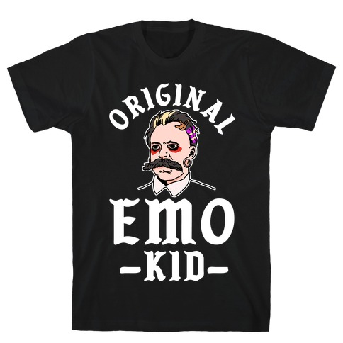 Original Emo Kid Fredrick Neichze T-Shirt
