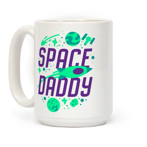 Space Daddy Coffee Mug
