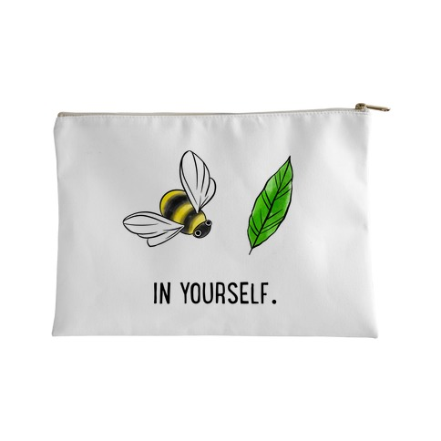 Bee Leaf In Yourself Accessory Bag