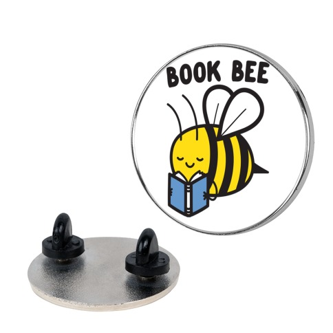 Book Bee Pin