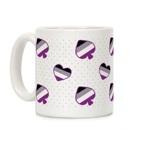 Ace Pride Pattern Coffee Mug