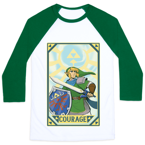 Courage - Link Baseball Tee