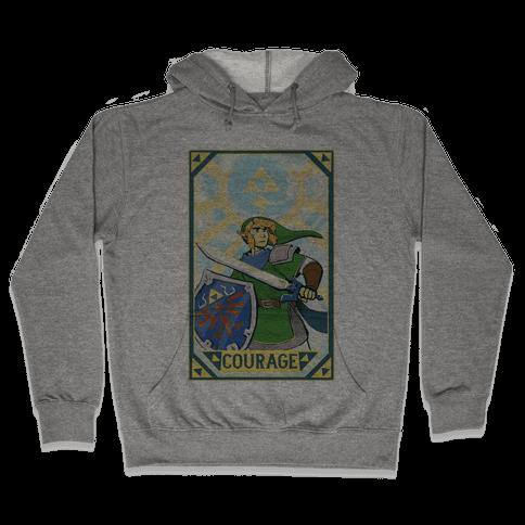 Courage - Link Hooded Sweatshirt