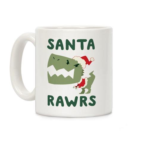 Santa RAWRS! Coffee Mug