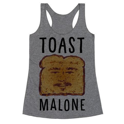 Toast Malone Racerback Tank Top