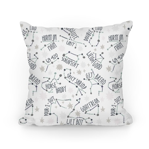 Asstrology Constellations Pillow
